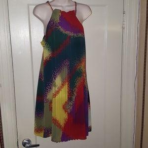 Les Petites Collection Multicolor Dress Sz T2 = M